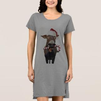 Christmas donkey - santa donkey - donkey santa dress