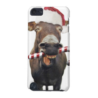 Christmas donkey - santa donkey - donkey santa iPod touch (5th generation) covers