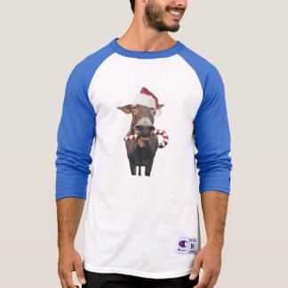 Christmas donkey - santa donkey - donkey santa T-Shirt