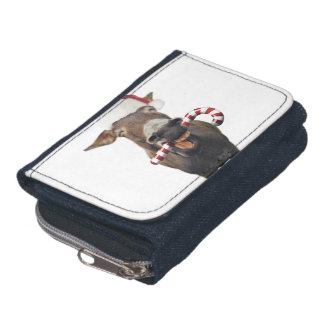 Christmas donkey - santa donkey - donkey santa wallet