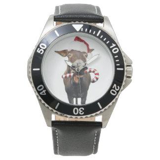 Christmas donkey - santa donkey - donkey santa watch