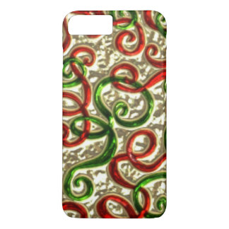 Christmas Doodle iPhone 7 plus barely there case