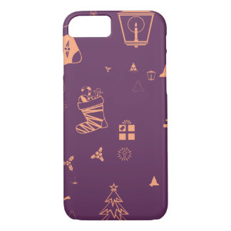 Christmas doodles iPhone 8/7 case