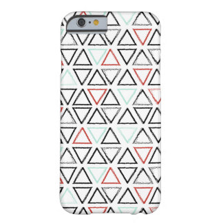 Christmas doodles triangle geometric pattern barely there iPhone 6 case