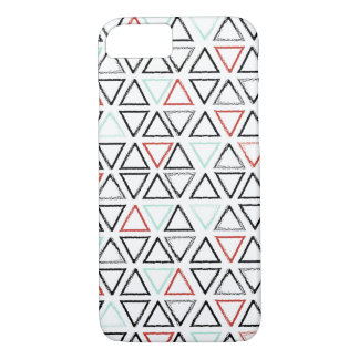 Christmas doodles triangle geometric pattern iPhone 8/7 case