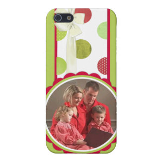 Christmas Dots iPhone 4 Case