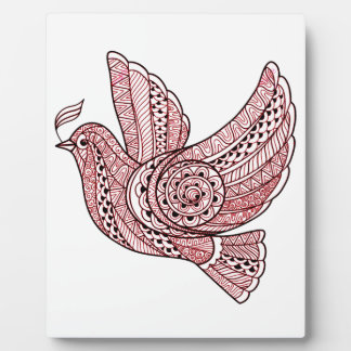 Christmas Dove Plaque