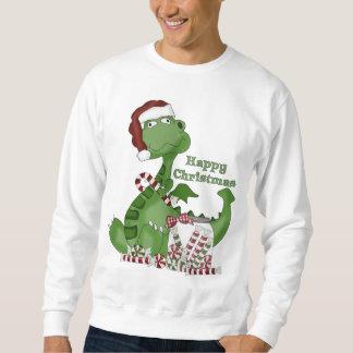 Christmas Dragon Holiday cartoon sweatshirt