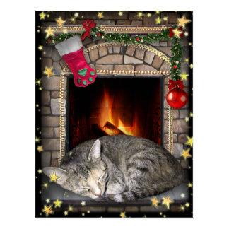 Christmas Dreams Postcard