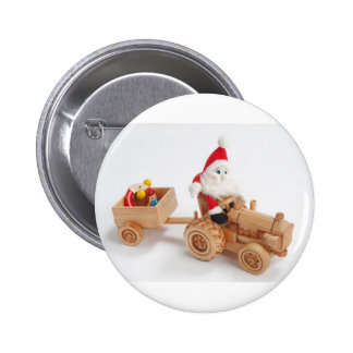 Christmas driver 2 inch round button