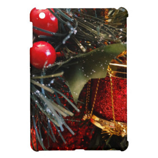 Christmas Drum with Berries iPad Mini Covers