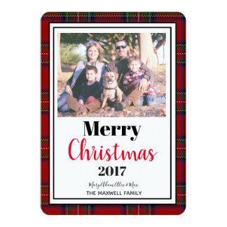 "Christmas Editable Photo Card 5""x7"" With Envelopes"
