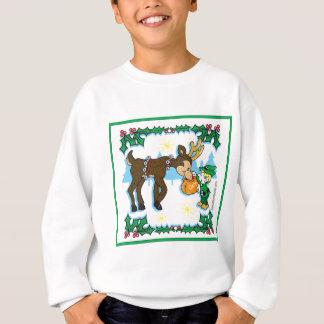 Christmas Elf and Reindeer Sweatshirt