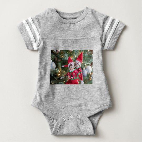 Christmas Elf Baby Bodysuit