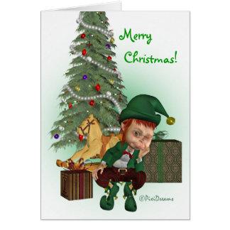 Christmas Elf - Christmas Card