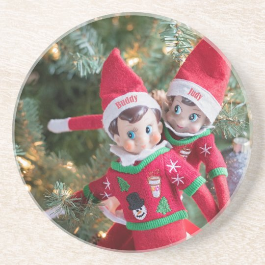Christmas Elf Coaster