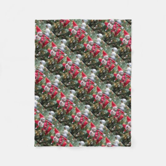 Christmas Elf Fleece Blanket