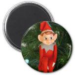Christmas Elf Fridge Magnets