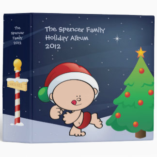 Christmas Elf Holiday Binder