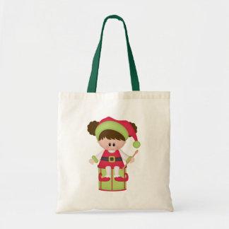 Christmas Elf Holiday Tote Bag