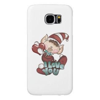 "Christmas Elf - ""I Love You"" S6 Case"