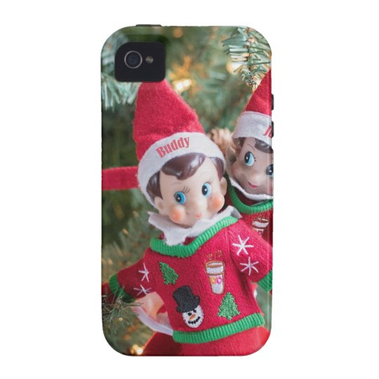 Christmas Elf iPhone 4 Cover