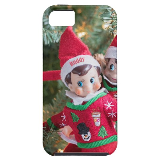 Christmas Elf iPhone 5 Case