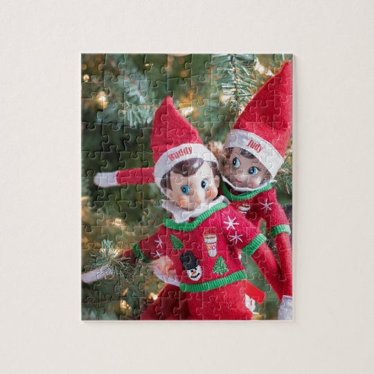 Christmas Elf Jigsaw Puzzle