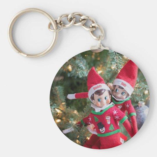 Christmas Elf Keychain