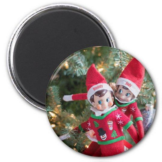 Christmas Elf Magnet