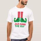 Christmas Elf Name Custom T-Shirt