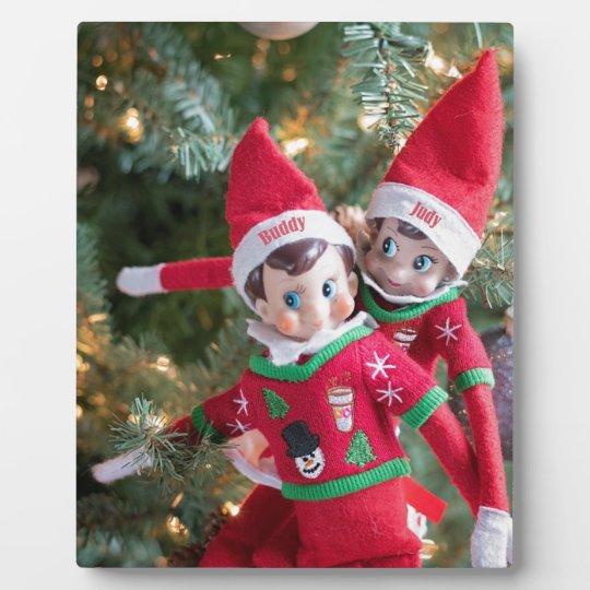 Christmas Elf Plaque