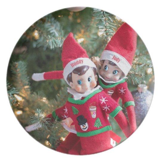Christmas Elf Plate