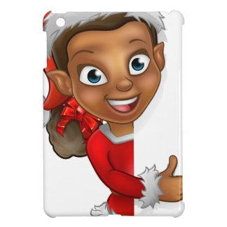 Christmas Elf Pointing iPad Mini Cases
