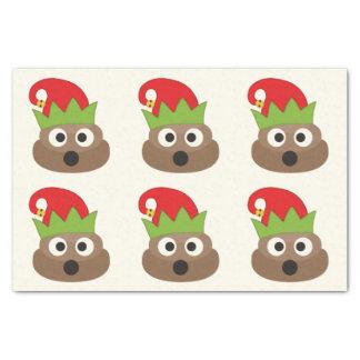 Christmas Elf Poop Emoji Tissue Paper