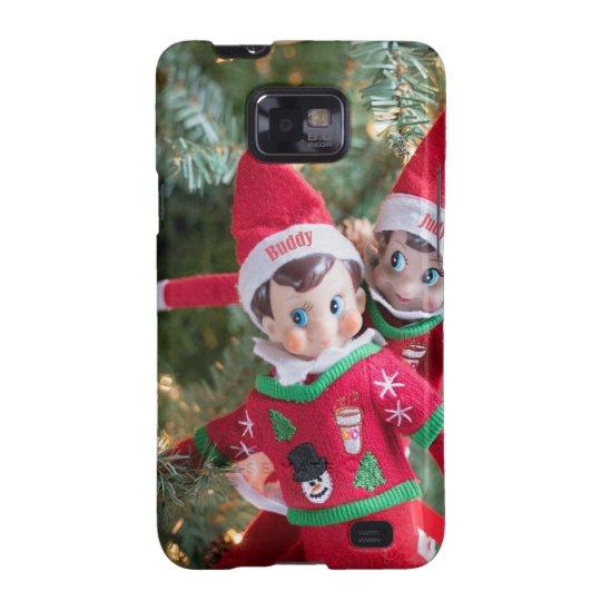Christmas Elf Samsung Galaxy S2 Case