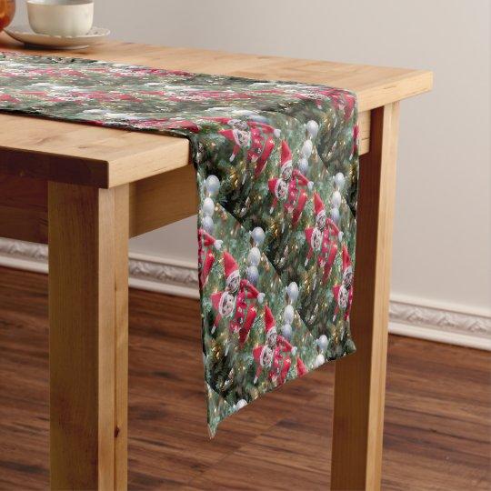 Christmas Elf Short Table Runner