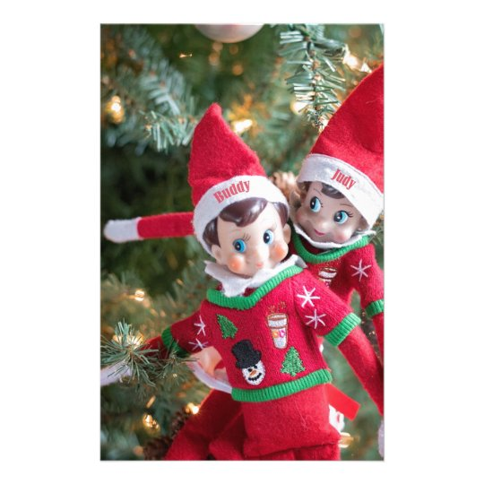 Christmas Elf Stationery