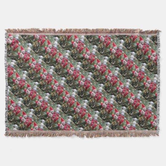 Christmas Elf Throw Blanket