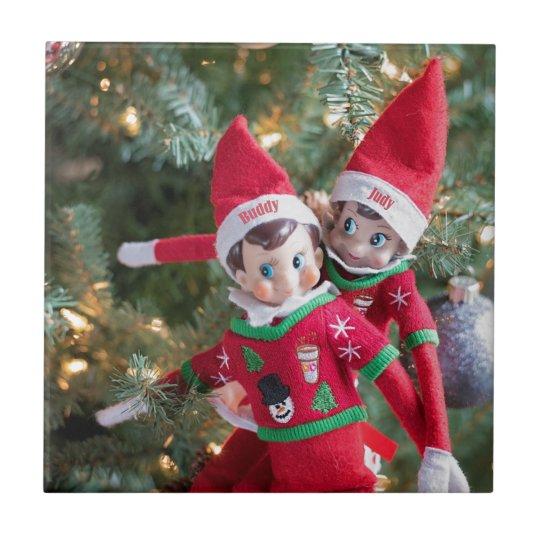 Christmas Elf Tile