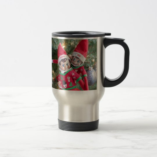 Christmas Elf Travel Mug