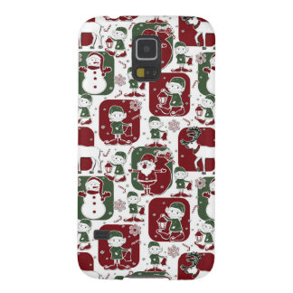 Christmas Elves & Snowmen Cases For Galaxy S5