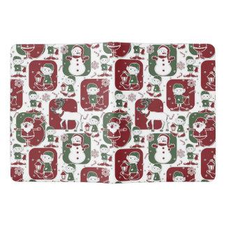 Christmas Elves & Snowmen Extra Large Moleskine Notebook
