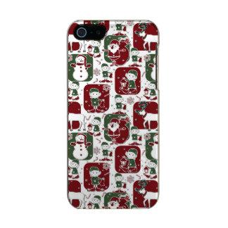 Christmas Elves & Snowmen Incipio Feather® Shine iPhone 5 Case