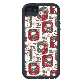 Christmas Elves & Snowmen iPhone 5 Covers