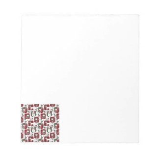 Christmas Elves & Snowmen Notepad