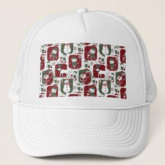 Christmas Elves & Snowmen Trucker Hat