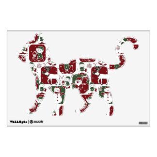 Christmas Elves & Snowmen Wall Sticker