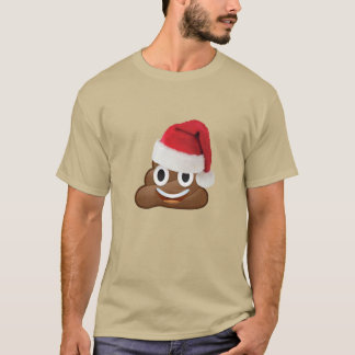 christmas emoji dump toilet funny shirt-design T-Shirt