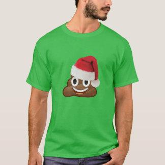 christmas emoji dump toilet funny t-shirt design